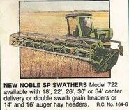 New Noble 722 swather
