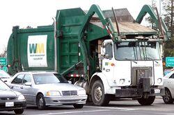 US Garbage Truck