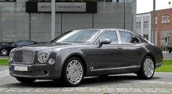 Bentley Mulsanne – Frontansicht (4), 10. August 2011, Düsseldorf