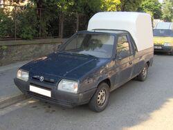 Brno, Wurmova, Škoda Pick-up