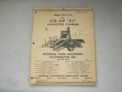 Co-op E7 pull-type combine brochure (CCIL)