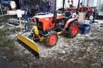 Kubota B7001D 4WD + snowplough blade at LAMMA 2013 IMG 6161