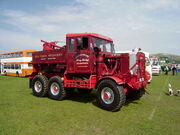 Scammell Explorer - Ten Ton Annie - AAS 121 - at Llandudno 08 - P5050118