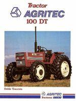Agritec 100 DT MFWD brochure