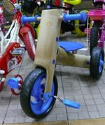 Bamboo childrens tricycle
