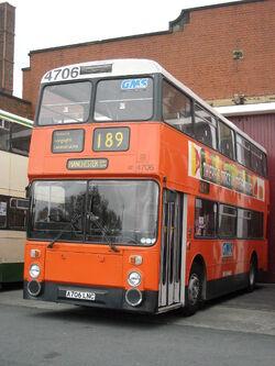 Manchester Transport Museum bus A706 LNC (2)