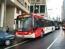 Trolleybus Low Floor 4 1500 - Sao Paulo, Brazil