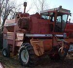 White 7800 combine