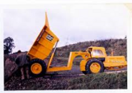 A 1960s Whitlock Brothers DD70 ADT Fordson based