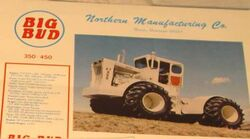 Big Bud KT450 brochure - 1977