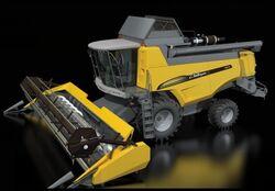 Challenger 647C combine - 2012