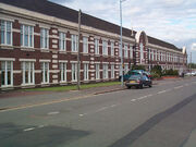 Drews Lane Ward End Birmingham factory front