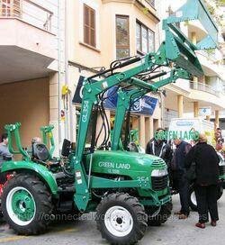 Green Land GL-354 MFWD - 2012