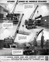Jones Cranes model range
