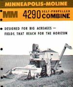 MM 4290 combine b&w brochure