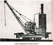 A 1900 Smith Of Rodley Steam Railcrane 5T
