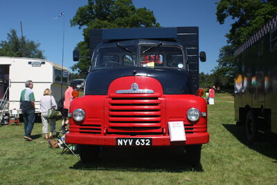Bedford S type NYV 632 at Woolpit 09 - IMG 1442