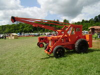 Chaseside Crane at Belvoir Castle 2008