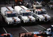 Equipa PORTARO no Rali Todoterreno Paris-Dakar de 1983