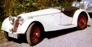 Riley 12 4 Sprite 2-Seater Sports 1936