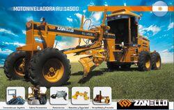 Zanello RU 14500 grader brochure - 2013