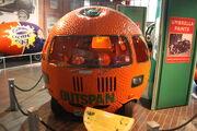 Outspan Orange (mini) at National Motor Museum 2010 - IMG 7635