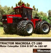 Macrosa CT-180 4WD brochure