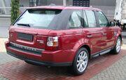 Range Rover Sport HSE rear 20071231