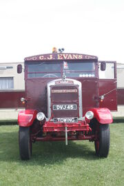 Scammell Showmans Tractor - DVJ 45 - Empress of England - at Kemble 09 - IMG 1339