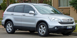 2007-2009 Honda CR-V (RE MY2007) Sport wagon 01