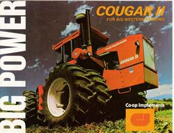 Co-op Implements Cougar II 4WD brochure