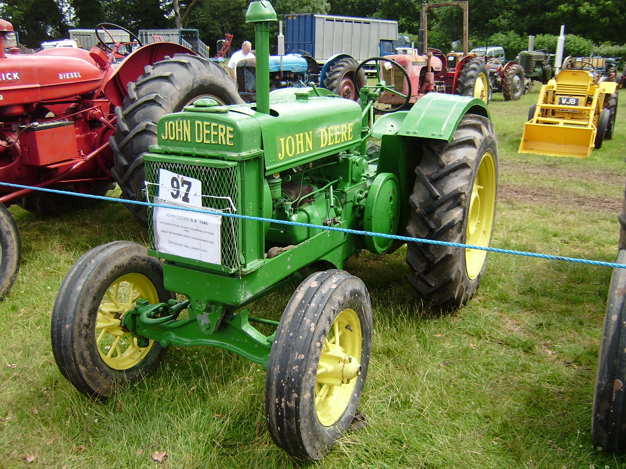 List of John Deere tractors | Tractor & Construction Plant ... John Deere Model Wiring Diagram on farmall super mta wiring diagram, john deere 50 wiring diagram, john deere model 70 engine,