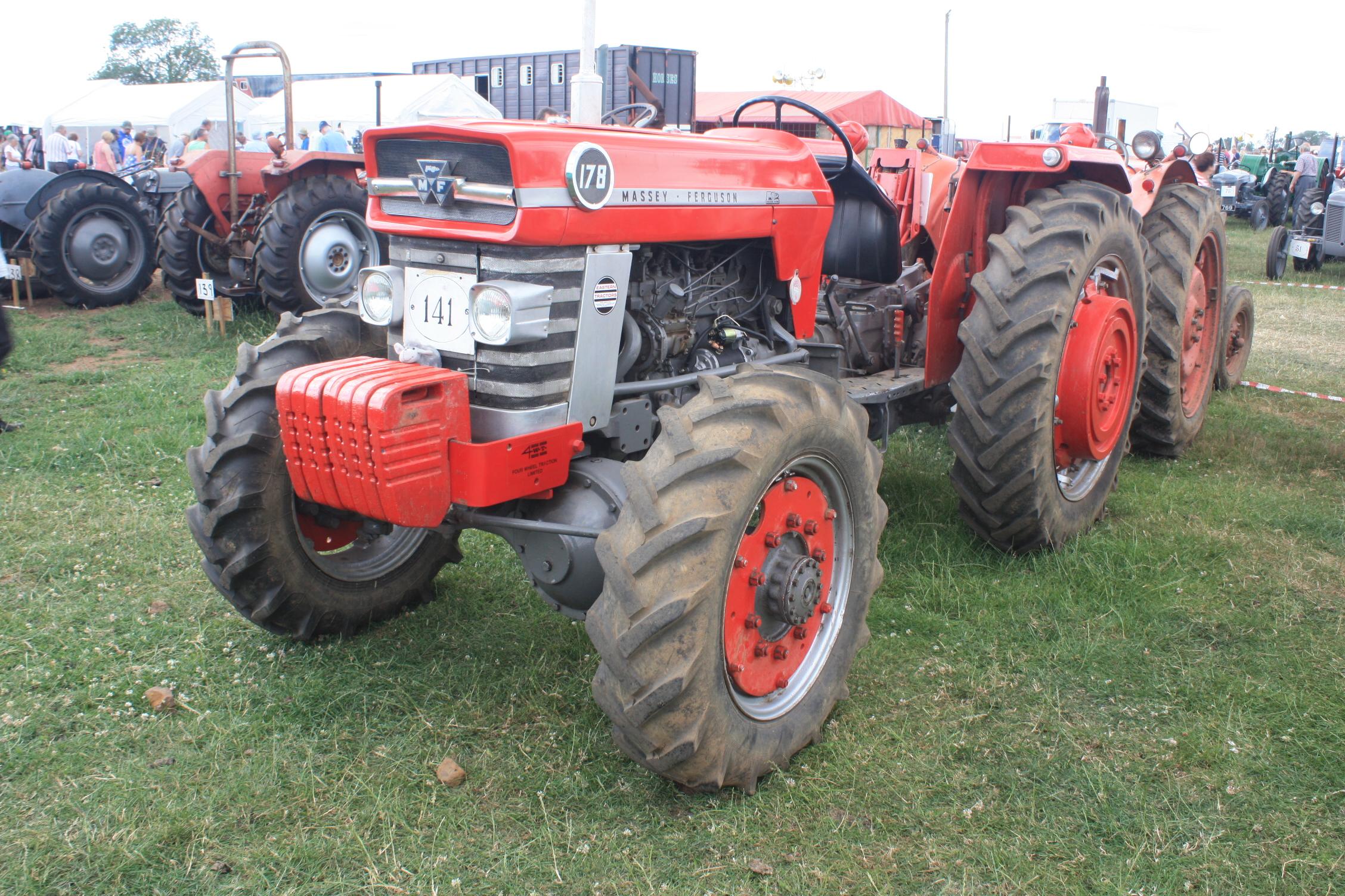 Massey Ferguson 178   Tractor & Construction Plant Wiki   FANDOM powered by  Wikia