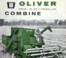 List of Oliver harvesters