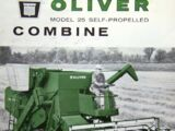 List of Oliver harvesters