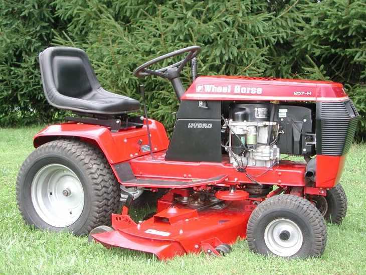 wheel horse 257 h tractor construction plant wiki fandom rh tractors wikia com 1986 Wheel Horse Garden Tractor Wheel Horse Tractor Emblems