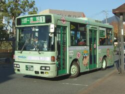 Dazaifu City community bus01