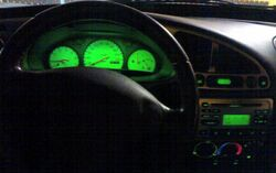 Illuminated Interior Ford Puma 1.7