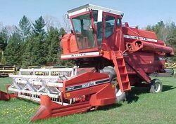 White 7600 combine