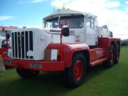 A 1960s Rotinoff Super Atlantic Tractor GR7 6X4 fully restored