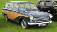 Ford Consul Cortina estate timber effect 1963 ca 1500cc
