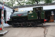 Hudswell Clarke no.1026 (Sir Robert McAlpine No.31) at Fawley Hill IMG 4448