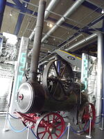 Move It - Thinktank Birmingham Science Museum - Steam Traction Engine - Ruston Proctor and Co Ltd (8620343766)