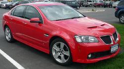 2008 Pontiac G8 GT sedan 01