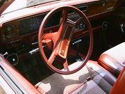 AMC Eagle wagon burgundy int