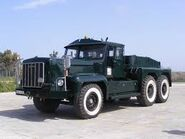 A 1960s Rotinoff Super Atlantic Army Tractor GR7 6X4 fully restored