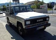 A 1980s EBRO Patrol 4X4 Diesel