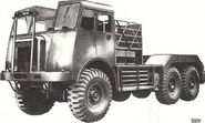 A 1960s AWD AEC Militant 6X6 for Cranes and Excavators