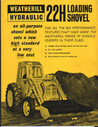 A 1970s weatherill 22H loader