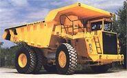 A 1990s Aveling-Barford RD55 TD Dumptruck